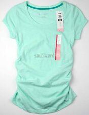 Women's Liz Lange Maternity Pregnancy Top T-shirt Tee Size XS Aqua MINT