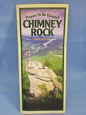 CHIMNEY ROCK STATE PARK N.C. BROCHURE ( BEAUTIFUL PARK ) WESTERN NORTH CAROLINA