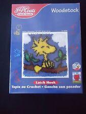 Woodstock Peanuts Latch Hook Kit 50th Anniversary J & P Coats