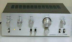 Vintage Pioneer Integrated Amplifier turntable input, made in Japan