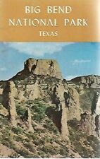 m1 - Vintage 1973 Book - BIG BEND NATIONAL PARK in TEXAS - Dramatic Contrasts &