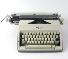 Olympia SM9 DeLuxe typewriter vtg 1965 13 in carriage no case
