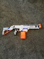 Nerf N-Strike Elite Retaliator Blaster With Extra 6 Round Magazine NO Bullets