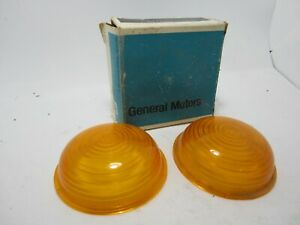 61-66 Chevrolet GMC P-Series Parking Light Lenses NOS 5790798
