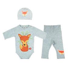 Completi grigio in misto cotone per bambino da 0 a 24 mesi