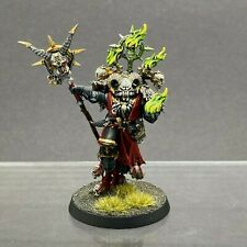 WARHAMMER 40,000 CHAOS SPACE MARINES BLACK LEGION MASTER OF POSSESSION PAINTED