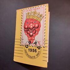 CALENDRIER PUBLICITAIRE DE POCHE VINS  GRAP 1956