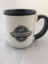 Harley Davidson Columbus Ohio Coffee Mug A.D Farrow Co Black & White Coffee Mug