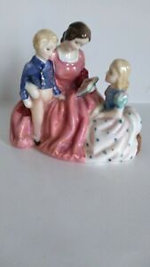 "ROYAL DOULTON "" THE BEDTIME STORY"" FIGURINE"