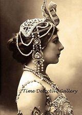 Courtesan, Spy, & Dancer 'Mata Hari' (3) - 1910 - Historic Photo Print