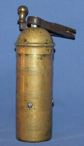 Antique brass coffee pepper grinder mill