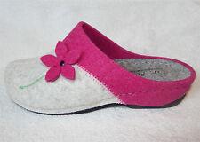 Dr.Feet Pantoletten Pantoffeln Puschen Hausschuhe Finken Schlappen pink o. lila