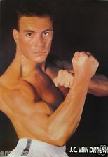 """JEAN-CLAUDE VAN DAMME """"READY FOR ACTION!"""" POSTER FROM ASIA-Muscles From Brussles"""