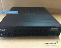 Genuine Cisco ISR4451-X/K9 V06 ISR 4451 PoE 4 Port Wired Router Single AC Power