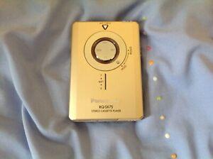 Panasonic rq-sx75 stereo cassette player