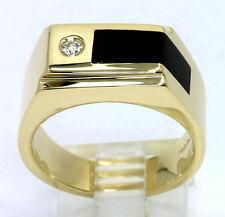 476f4f3c99256 Onyx Yellow Gold 14k Rings for Men for sale   eBay
