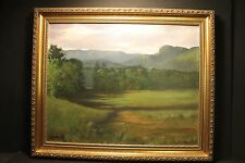 Joseph Sparaco, Monument Mountain, Great Barrington Ma., Oil On Canvas, 2002