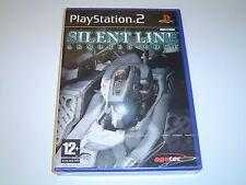 ARMORED CORE silenziosa linea SONY PLAYSTATION 2 PS2 * Nuovo di Zecca *