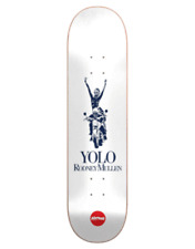 "Almost Skateboard Deck Runway Rodney Mullen 8.0"" R7 Silver"