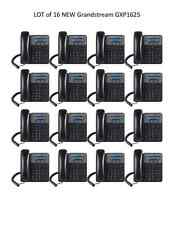 LOT of 16 New Grandstream GXP1625 2-Line HD SIP IP Phone PoE - FREE SHIPPING