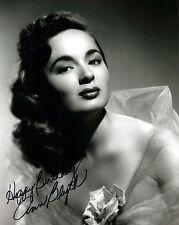 Ann Blyth signed stunning 8x10 photo / autograph Happy Birthday inscription