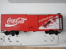 NEW!  LGB 4391 COCA-COLA BOX CAR--G SCALE--MADE IN GERMANY--1992