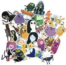 Adventure Time Cartoon Assorted Decals Lot of 30 Stickers