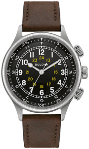Bulova A-15 Pilot 42mm 21-Jewel Automatic Men's Watch