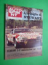 AUTOSPRINT 1972/39 Opel Commodore Gta Junior Fiat 128 coupè Ferrari 312 +inserto