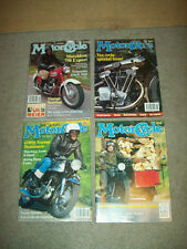 4 THE CLASSIC MOTORCYCLE MAG 1993 british TRIUMPH HARLEY norton V-TWIN bmw*