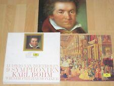 9xLP Box-Set Beethoven Die Neun Symphonien Böhm Ridderbusch Gwyneth Jones