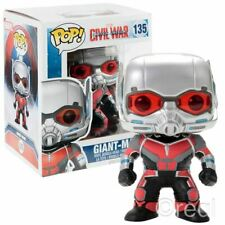 "New Marvel Captain America Civil War Giant-Man 6"" Pop Figure Funko #135 Official"