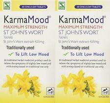 Schwabe KarmaMood Max Strength St John`s Wort - 60 Tablets (Pack of 2)