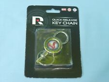 ST. LOUIS CARDINALS  Quick Release silver metal KEYCHAIN / KEYRING by Rico NIP