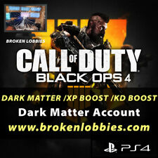Call of Duty: black ops 4 dark matter account bo4 bot boost mod lobby mw ps4