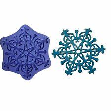 3D Silicone Mold Frozen Snow Snowflake Cake Decorating Fondant Gompaste 928