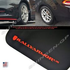 """Rally Armor UR """"Black Mud Flaps with Red Logo"""" for 2013-2016 Dodge Dart"""