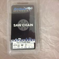 "10"" Archer Chainsaw Chain Blade Ryobi One Cordless 18V 3/8"" LP .043 40DL R40"