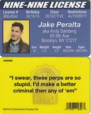 Jake Peralta - Andy Samberg Brooklyn Nine Nine fake NY i.d card Drivers License