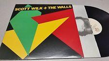 SCOTT WILK - THE WALLS - BSK 3460,  ROCK VINYL RECORD