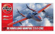 Airfix De Havilland Vampiro T.11 / j-28c 1:72 ART. a02058a Avión Aircraft Lona