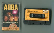 ABBA - MC Cassette - THANK YOU FOR THE MUSIQUE 1986 Karussell 829 643-3