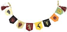 Kurt Adler 32 Inch Game of Thrones Sigil Banner Garland