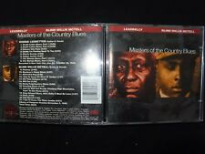 CD LEADBELLY / BLIND MC TELL / MASTERS OF THE COUNTRY BLUES /