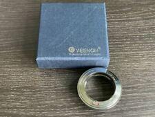 Yeenon Nikon RF to Leica M Inner adapter Contax RF Boxed Mint Nikon S