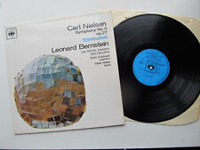 "Carl Nielsen Symphony No.3 12"" LP  RDO Bernstein - CBS SBRG 72369 UK 1965"