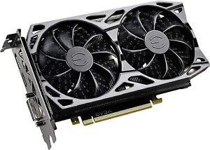 EVGA GeForce GTX 1660 6GB SC Ultra Gaming GDDR5 Video Graphics Card GPU