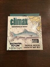 New ListingNew Climax Saltwater Fly Line Tropical Redfish Wf 8 F