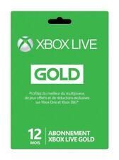 🎮 Abonnement Xbox Live Gold 12 mois - 1 An FR  -  ENVOI CLE RAPIDE - Key Code