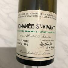 Romanee St.Vivant 1992 Empty Wine Bottle